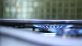Het branden de overdracht van de warmhoudplatennadruk stock footage