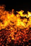 Het branden flire royalty-vrije stock foto's