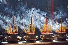 Het branden incenses Royalty-vrije Stock Foto's