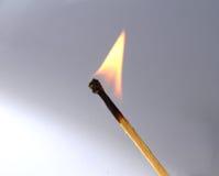 Het branden Matchstick royalty-vrije stock foto's