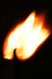 Het branden matchstick Stock Afbeelding
