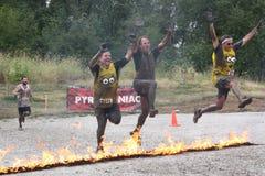 Het branden Minions Stock Fotografie