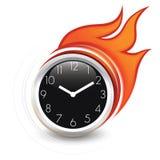 Het branden tijd Stock Foto's