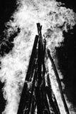 Het branden van de brand Royalty-vrije Stock Foto