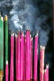 Het branden wierook Royalty-vrije Stock Foto