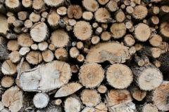 Het brandhout Stock Afbeeldingen