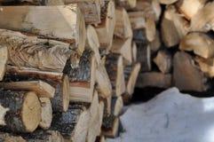 Het brandhout registreert 13 Royalty-vrije Stock Foto