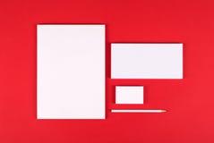 Het brandmerken identiteit Stock Foto