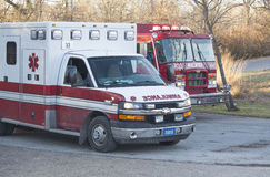 Het Brandweerkorps van Kansas City Missouri stock afbeelding