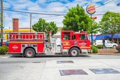 Het Brandweerkorps van Seattle Stock Foto