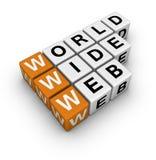 Het brede Web van Word Royalty-vrije Stock Afbeeldingen