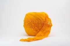 Het breien en crochet Stock Foto