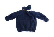 Het breien van een sweater Royalty-vrije Stock Foto