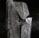 Het breken van het ijs vector illustratie