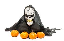 het brengen aan de dag van Halloween Stock Afbeeldingen