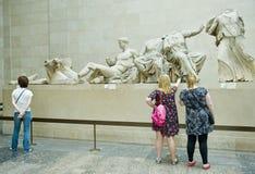 Het Britse museum Royalty-vrije Stock Afbeeldingen