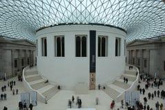 Het Britse museumbinnenland Royalty-vrije Stock Afbeeldingen