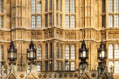 Het Britse Parlement. Stock Fotografie