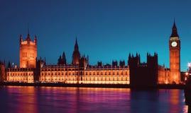 Het Britse Parlement Stock Foto