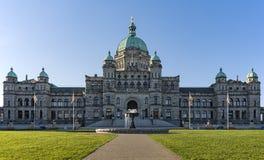 Het Britse Parlement die van Colombia Victoria BC Canada bouwen Royalty-vrije Stock Afbeeldingen