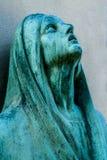 Het bronsstandbeeld Royalty-vrije Stock Afbeeldingen