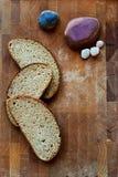 Het brood in de Skandinavische koffie Royalty-vrije Stock Fotografie