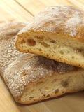 Het brood van Ciabatta Stock Foto