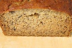 Het brood van de banaan Royalty-vrije Stock Foto's