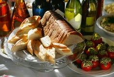 Het brood van de besnoeiing Royalty-vrije Stock Fotografie