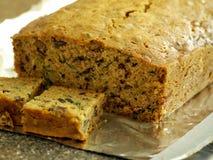 Het Brood van de courgette Royalty-vrije Stock Foto's
