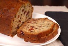 Het brood van de de Amerikaanse veenbesnoot van de banaan Royalty-vrije Stock Afbeelding