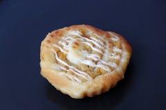 Het brood van de graanvissoep met mayonaisebovenste laagje stock afbeelding