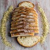 Het brood van de hennepzuurdesem royalty-vrije stock fotografie