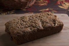 Het Brood van de kaneelkruimeltaart Stock Foto