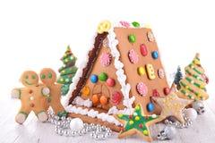 Het brood van de Kerstmisgember royalty-vrije stock afbeelding