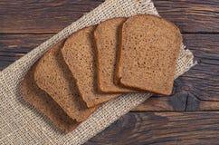 Het brood van de plakkenrogge Stock Foto's