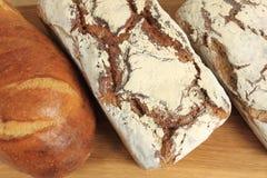 Het brood van de rogge royalty-vrije stock afbeeldingen