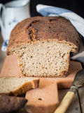 Het brood van de rogge Stock Foto