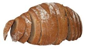 Het brood van de rogge. Isoleer Stock Foto