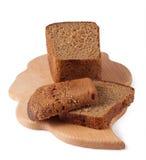 Het brood van de rogge op een raad Royalty-vrije Stock Afbeelding