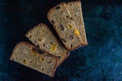 Het brood van de rogge stock afbeelding
