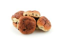 Het brood van de rozijn Stock Foto's