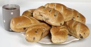 Het Brood van de rozijn royalty-vrije stock foto