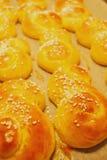 Het brood van de saffraan Royalty-vrije Stock Fotografie