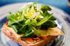 Het brood van de salade stock afbeeldingen