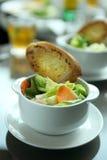 Het brood van de salade Royalty-vrije Stock Fotografie