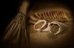 Het Brood van de tarwe Stock Fotografie