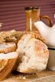 Het brood van de tarwe Stock Afbeeldingen