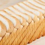 Het brood van de tarwetoost Stock Afbeeldingen