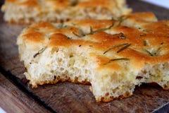 Het brood van Focaccia royalty-vrije stock afbeeldingen